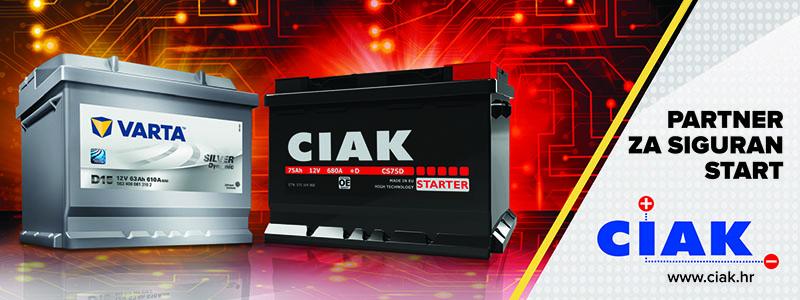 CIAK akumulatori partner za siguran start