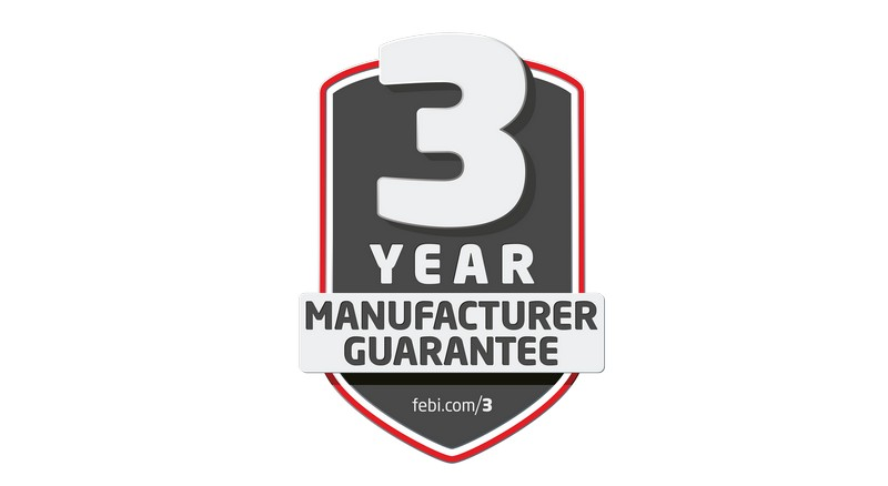 3 godine garancije na FEBI proizvode